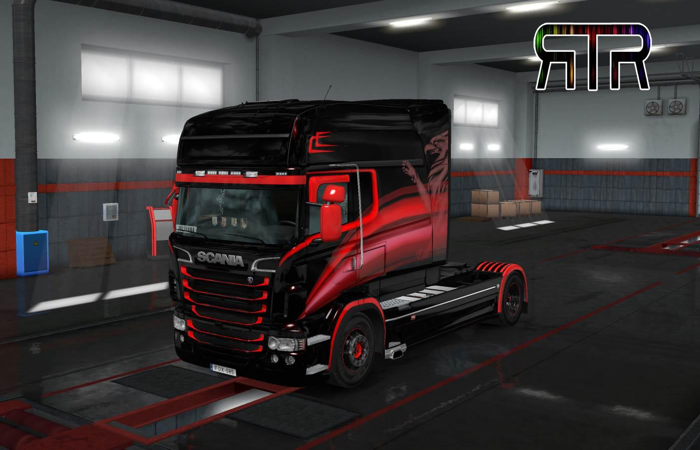 ETS2 - Scania RJL Griffin Skin (1.35.X)