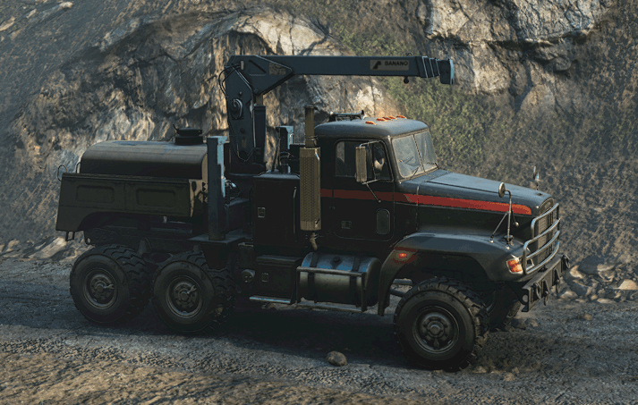 SnowRunner - M181 Freightliner M916A1 (Oni) - Enhanced V1.0