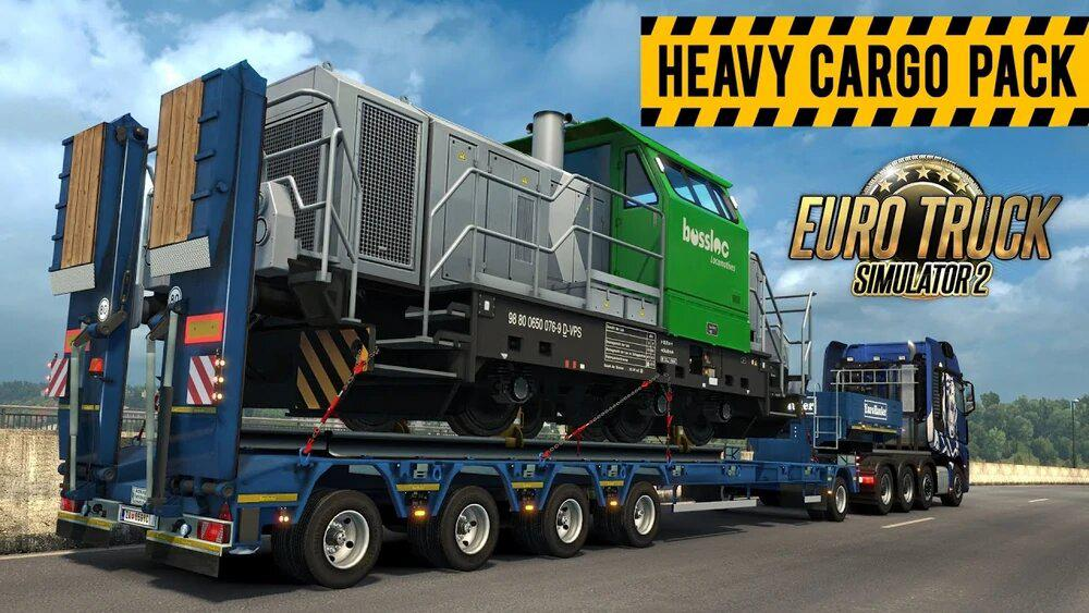 ETS2 - DLC Heavy Cargo Pack in Traffic (1.39.x)