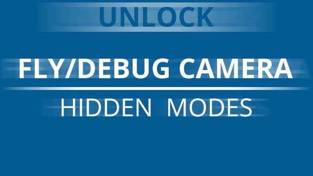 ETS2 - Fly/Debug Camera Hidden Mod V1.0 (1.36.x)
