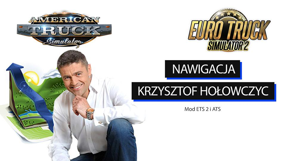 ETS2 - Voice Krzysztof Holowczyc V1.0 (1.35.x)
