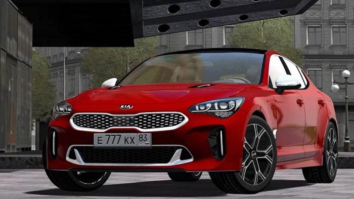 City Car Driving 1.5.9 – Kia Stinger GT