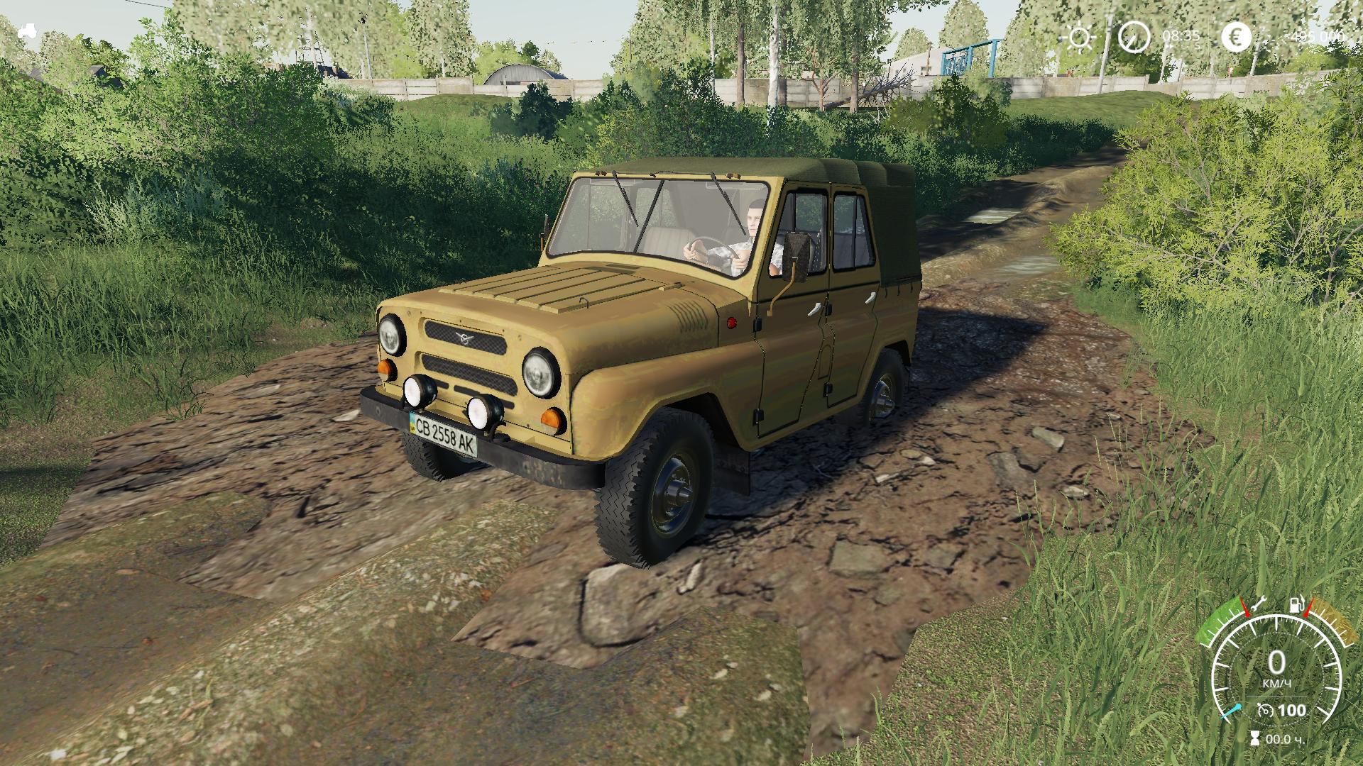 FS19 - Uaz 469 V2.0