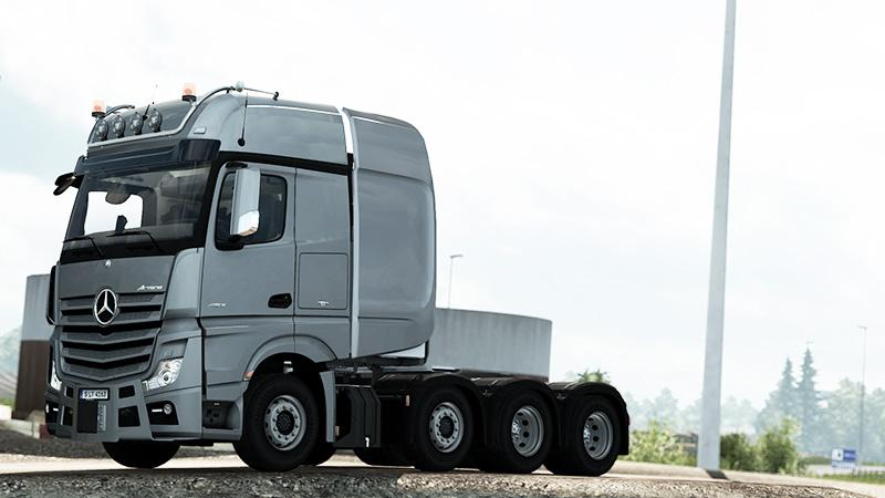 ETS2 - Mercedes-Benz Actros/Arocs SLT V1.5.5.4 (1.36.x)