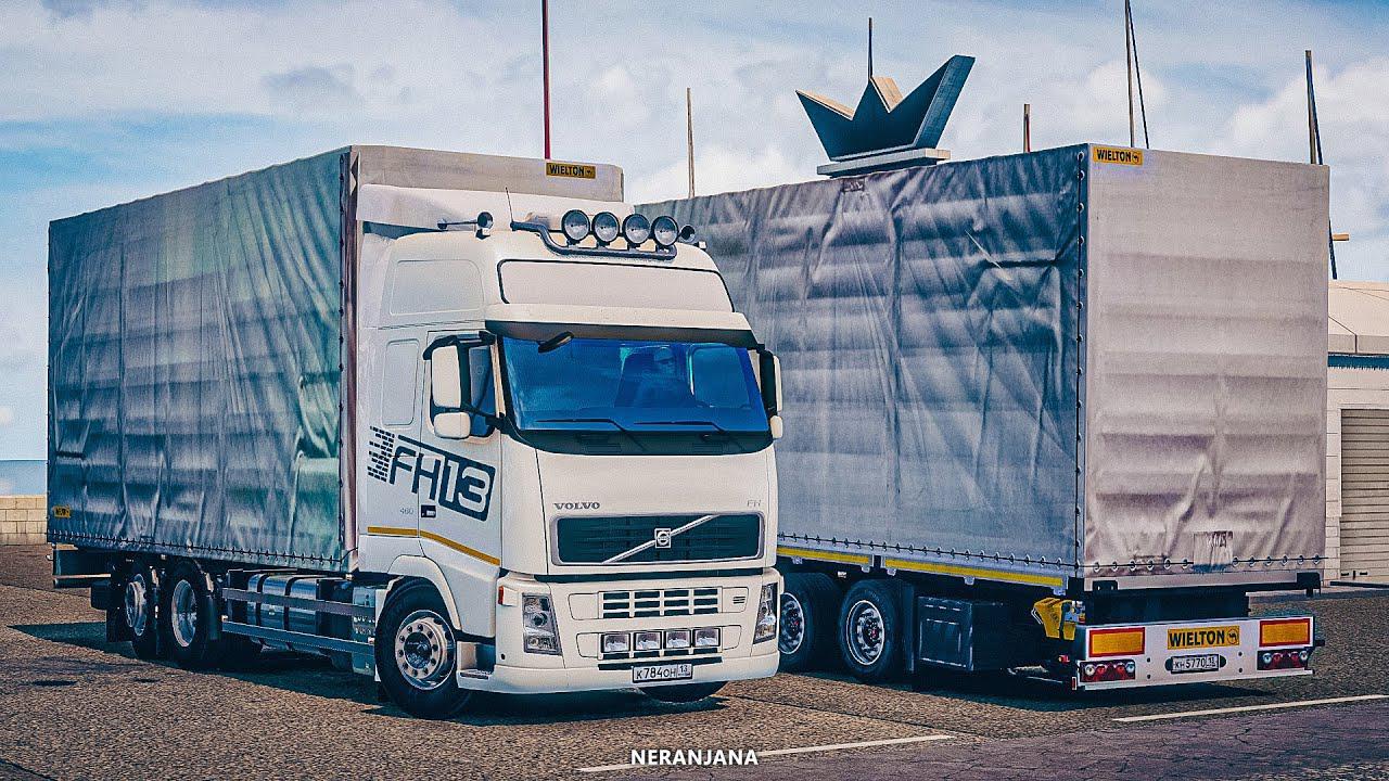 ETS2 - Volvo FH13 460 ES BDF Tandem Truck (1.38.x)