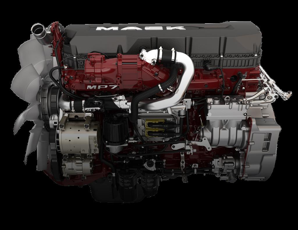 ATS - Mack MP7-8 Sounds and Real Engines Transmission V1.0 (1.35.X)
