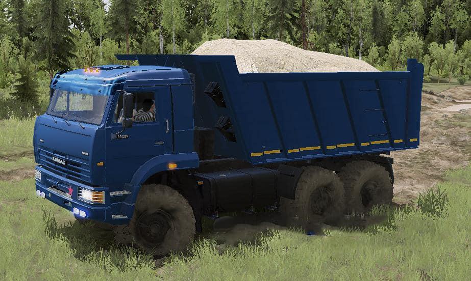 Spintires:Mudrunner - Kamaz Batyr Truck V03.05.21
