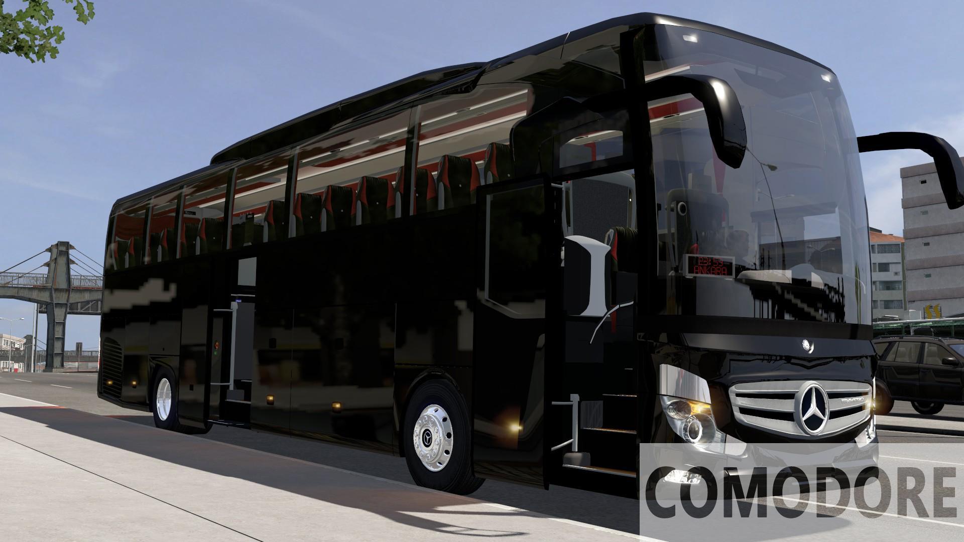 ETS2 - Mercedes-Benz Travego 15-16 SHD 2020 Euro 6 Bus (1.38.x)