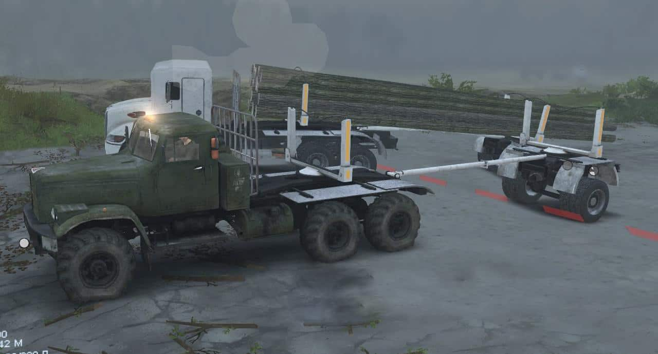 Spintires - Unmanned Truck + Add-ons