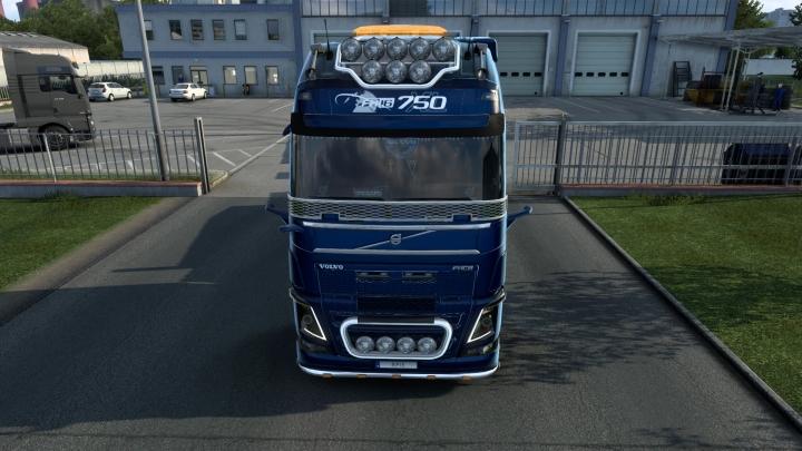 ETS2 - Volvo FH16 2012 Mega Mod V1.41.1.7S