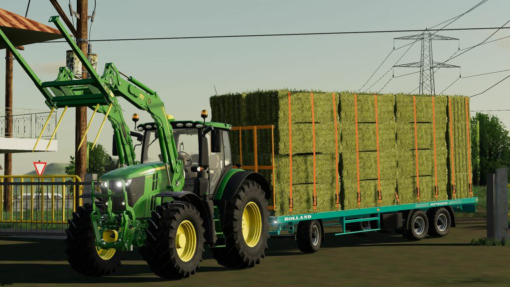 FS19 - Rolland RP LCH Trailers V1.0