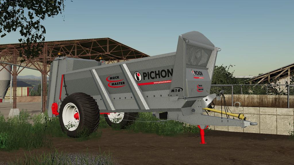 FS19 - Pichon M16 Trailer V1.0