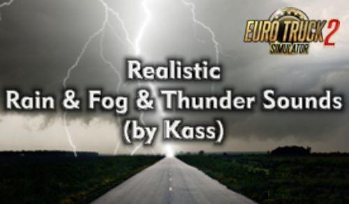 ETS2 - Realistic Rain & Thunder Sounds V3.8 (1.39.x)
