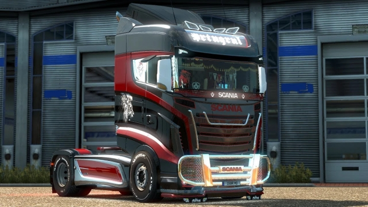 ETS2 - Scania R1000 Reworked Truck V4.0 (1.40.x)