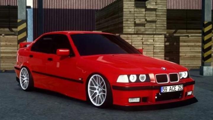 ATS - BMW 3 Series E36 Sedan + Interior V1.0 (1.40.x)