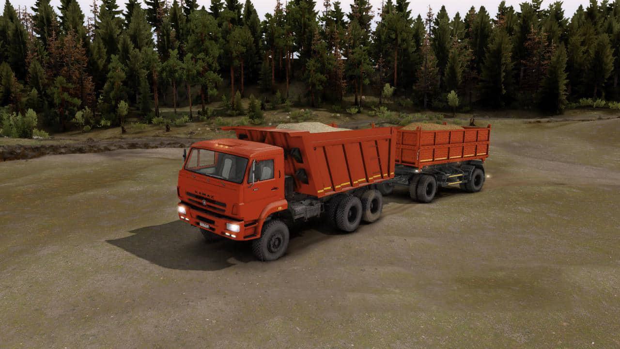 Spintires - Kamaz-65222 Truck V1.0