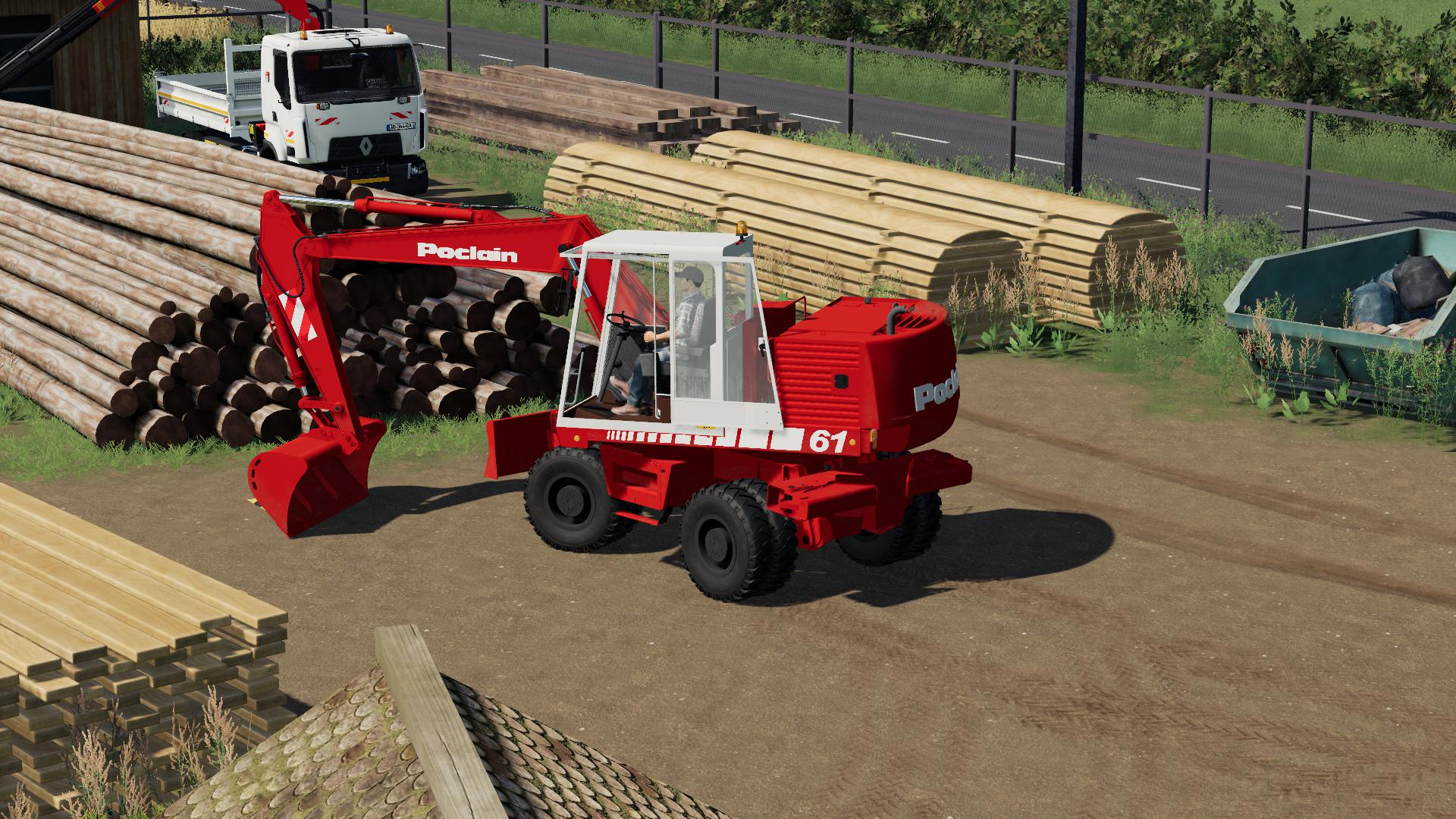 FS19 - Case 688 / Poclain 61 V1.0