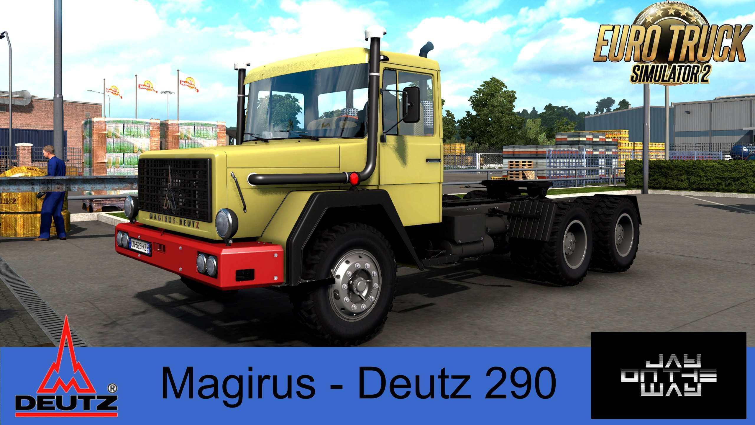 ETS2 - Magirus Deutz 290 Truck V2.0 (1.39.x)