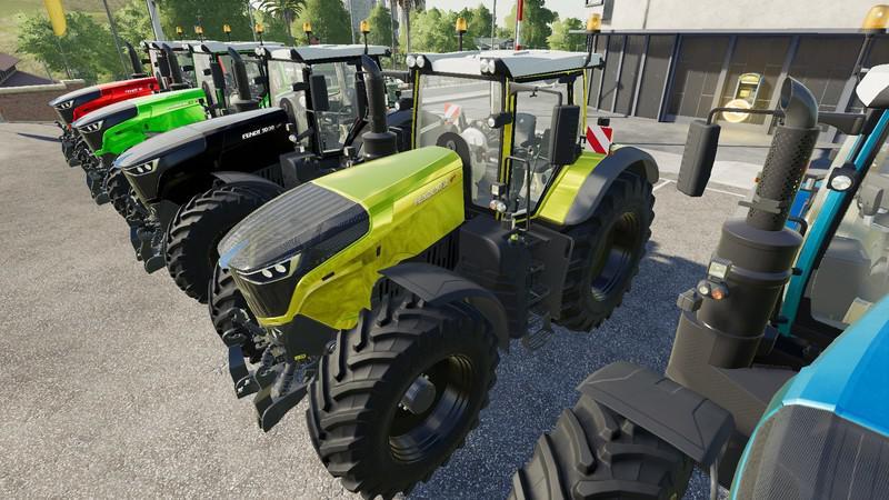 FS19 - Fendt 1000 Vario Tuning Tractor V1.0