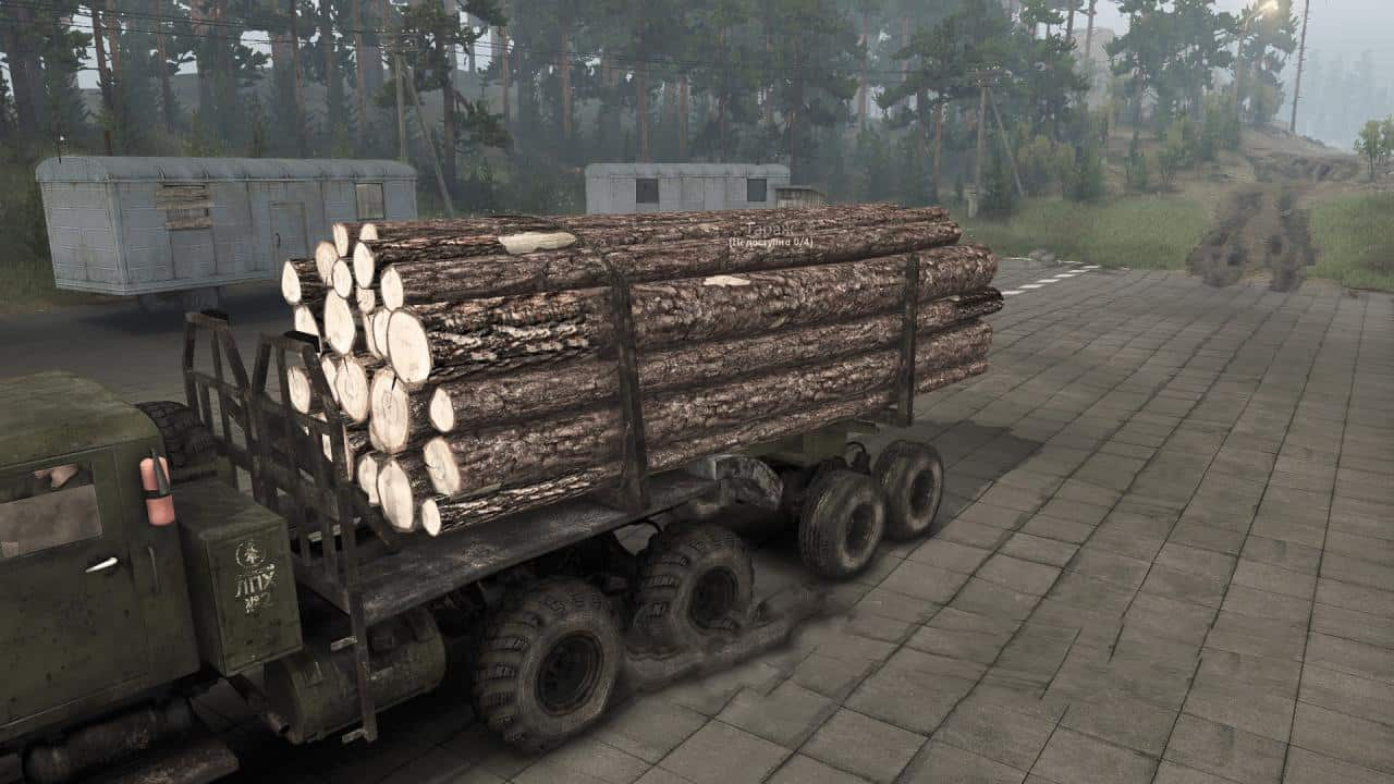 Spintires - Texture Logs V1.0