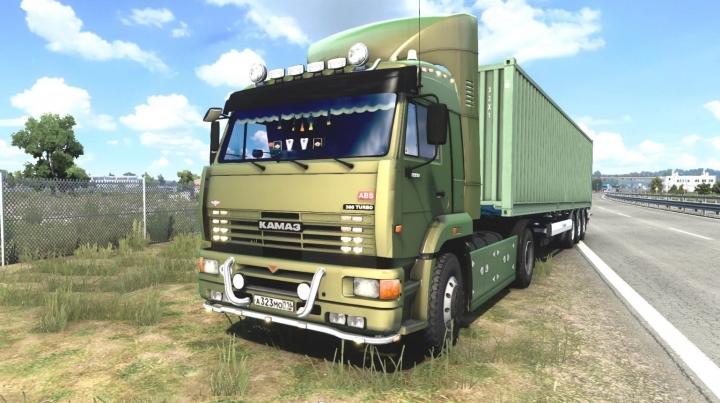 ETS2 - Kamaz 5460-63 2009 Truck (1.40 - 1.41)