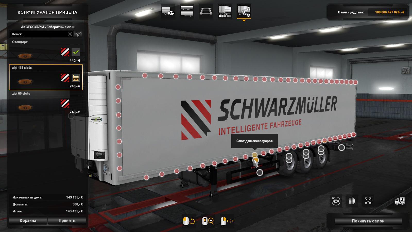 ETS2 - Schwarzmuller Slot V0.29 (1.36.x)