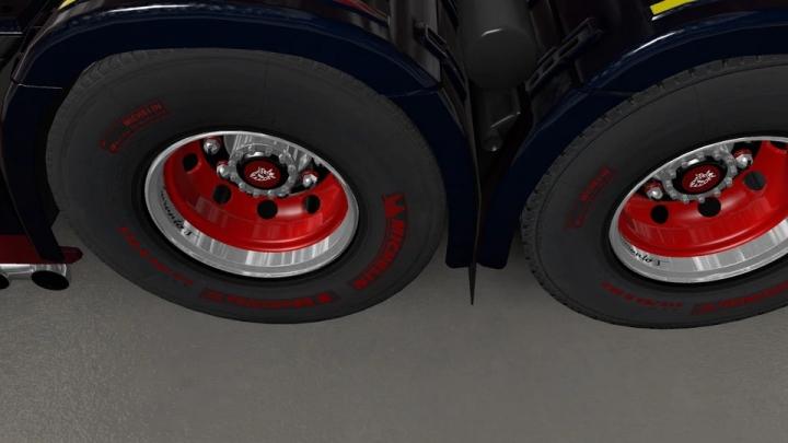 ETS2 - V8K Blaine Wheels Rework V1.1 (1.40.x)