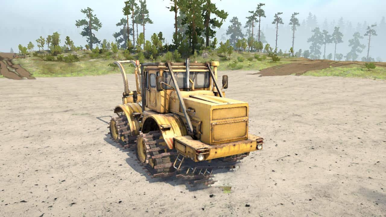 Spintires:Mudrunner - K-700 Tracked Tractor V1