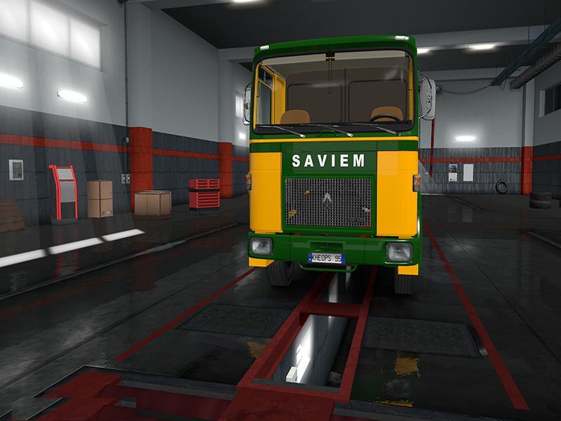 ETS2 - Saviem/Roman Truck (1.36.x)