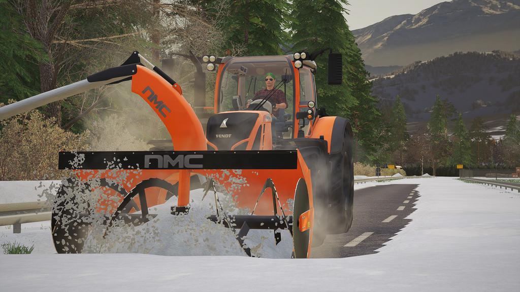 FS19 - NMC 320H Pro Snow Blower V1.0