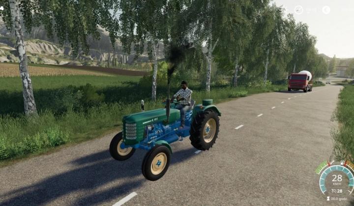 FS19 - Ursus C-4011 Tractor V2.0