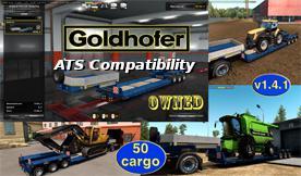 ATS - Compatibility Addon for Goldhofer Trailer (1.36.x)