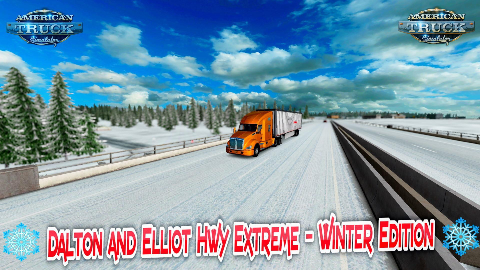 ATS - Dalton and Elliot Extreme - Winter Edition V2.0 (1.36.x)