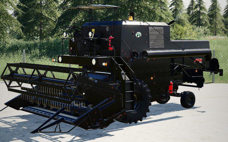 FS19 - Bizon Super Z056 (Black Design Edition) V1.0