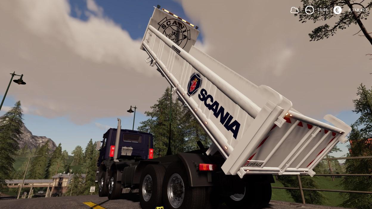 FS19 - Scania 8x4 Tipper V2.0.2.0