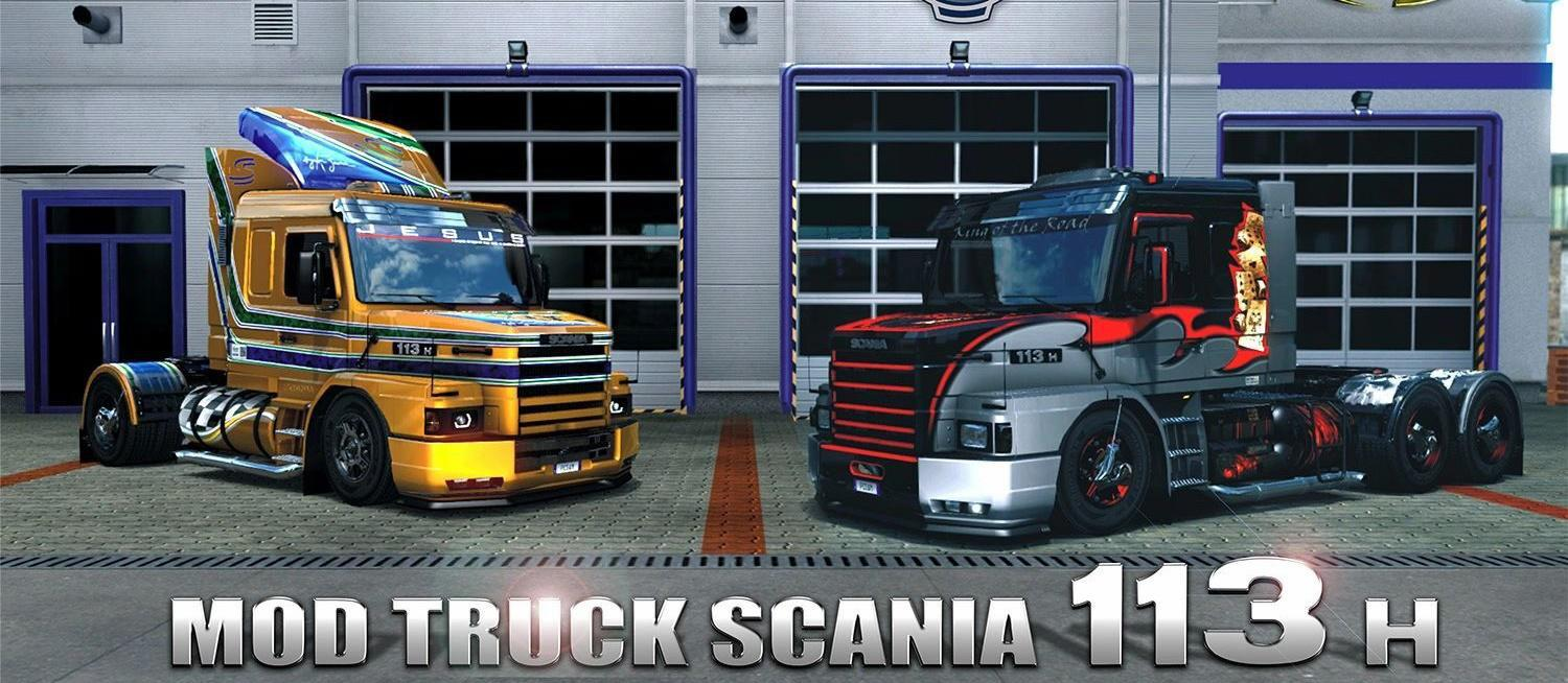 ETS2 - Scania 113H T Truck V2.8 (1.39.x)