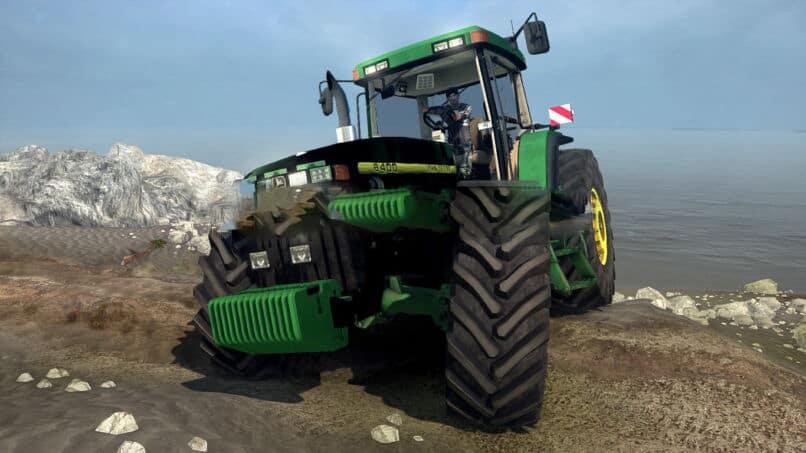 Spintires:Mudrunner - John Deere 8400 Tractor v1.0