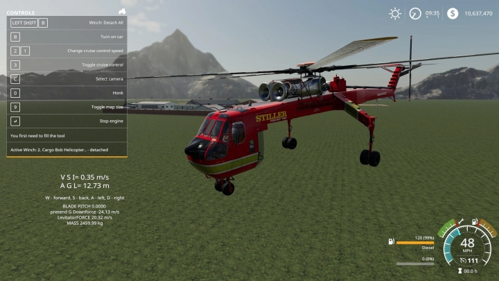 FS19 - S64 Skycrane / Stiller Fire Support V1.0.0.1