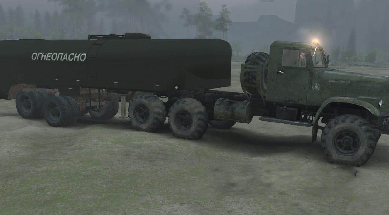 Spintires - Tank Mod V1