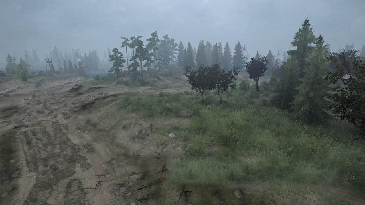 Spintires:Mudrunner - Depression Map V1.0