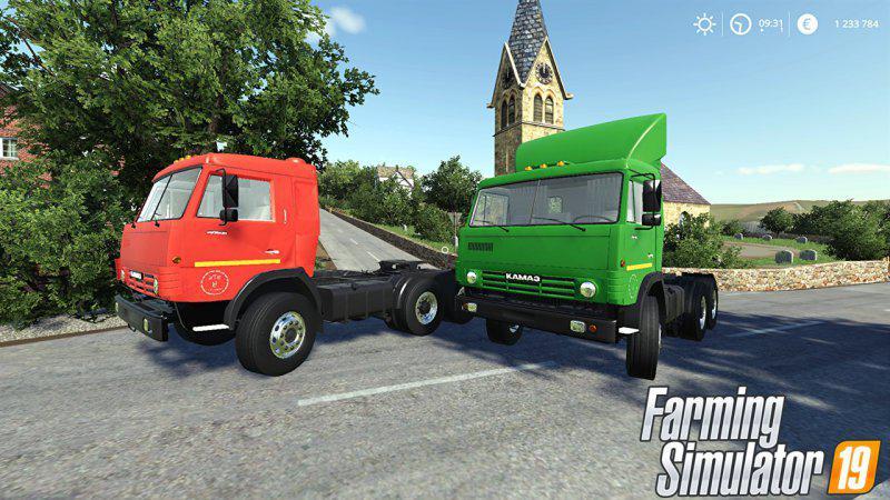 FS19 - Kamaz 5460 Truck V1.0