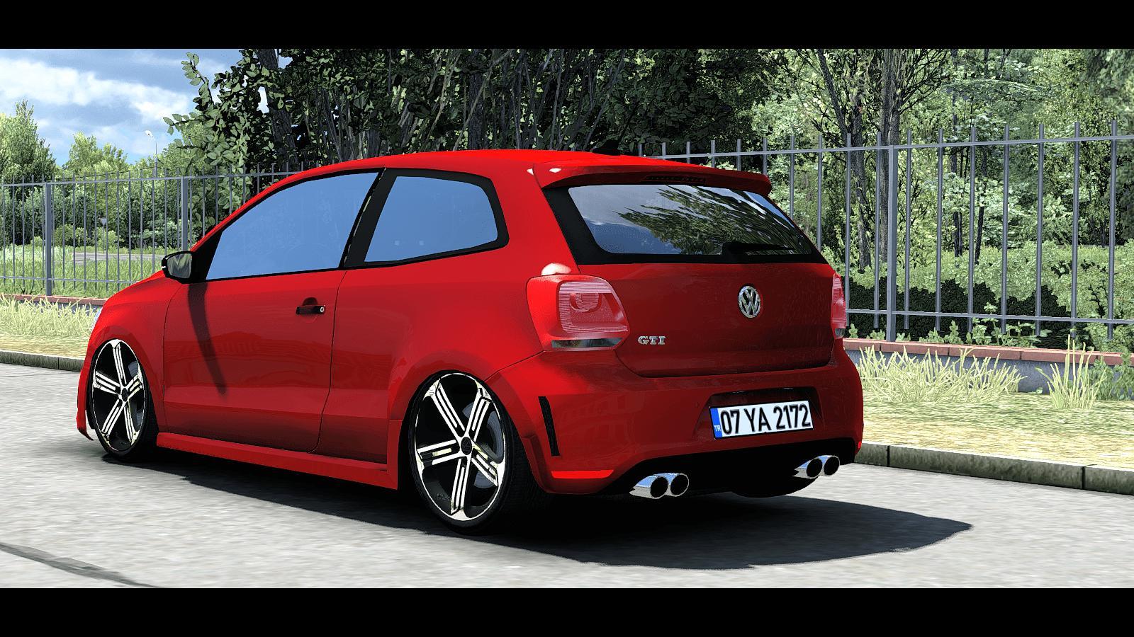 ETS2 - Volkswagen Polo Car Mod (1.35.x)