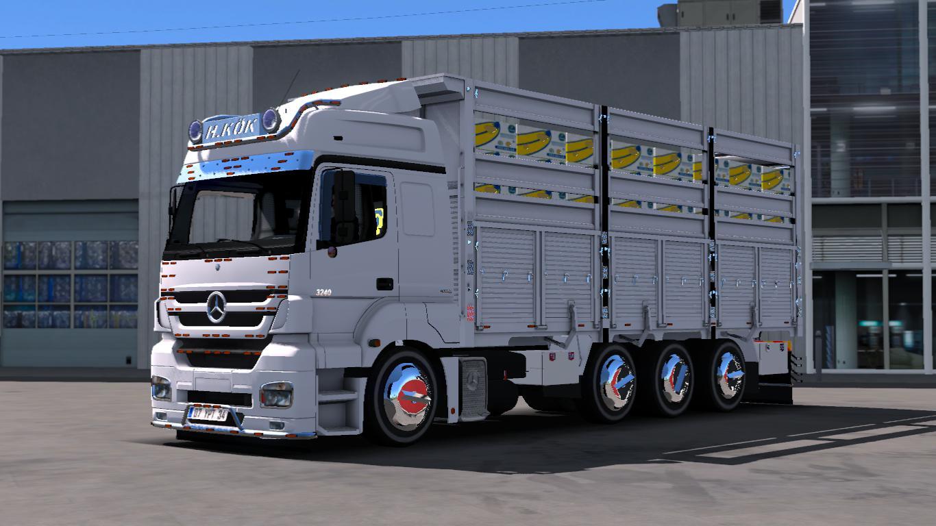 ETS2 - Mercedes Axor 3240 Reel + Rim Pack V1 (1.37.x)