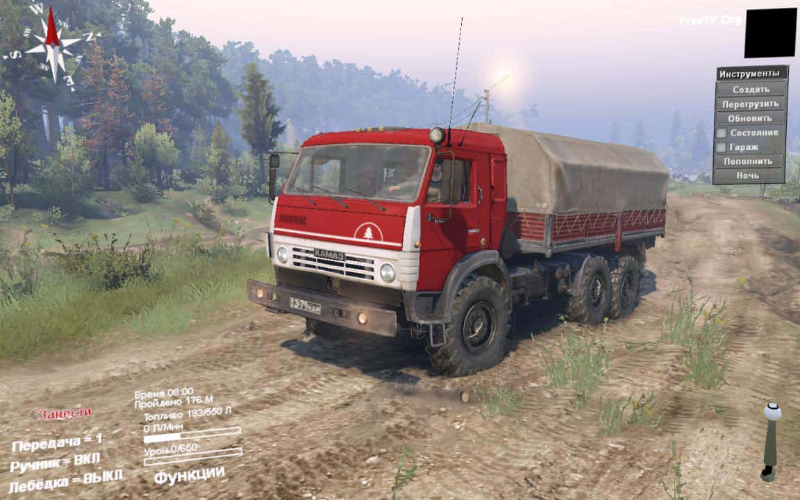 Spintires - Kamaz 5410 Pack Default Replacement V1.0