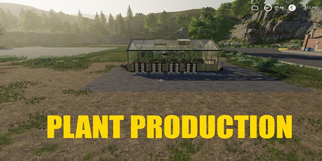 FS19 - Plant Production V1.0