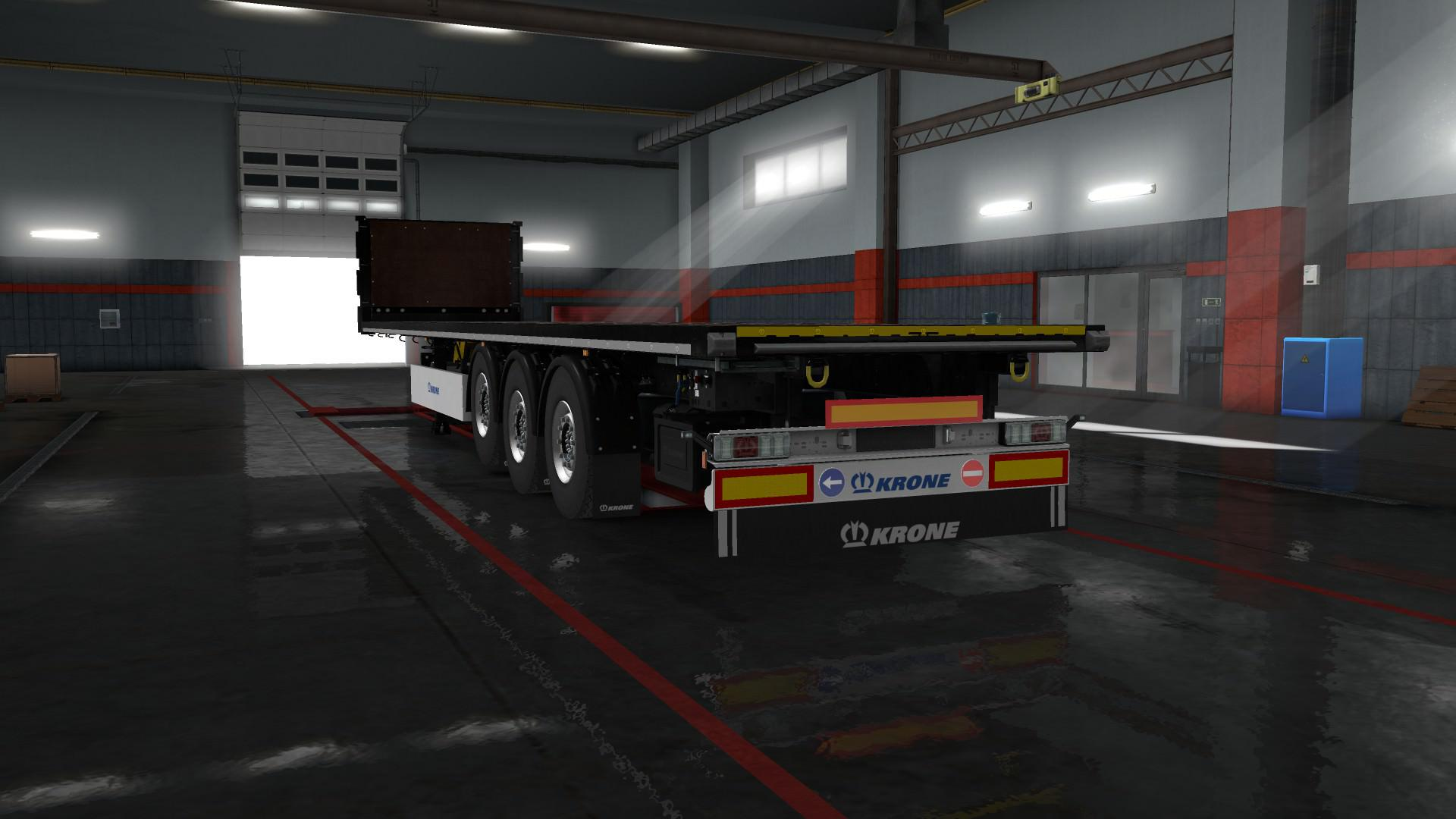 ETS2 - Signs on your Trailer V0.8.5.0 (1.36.x)