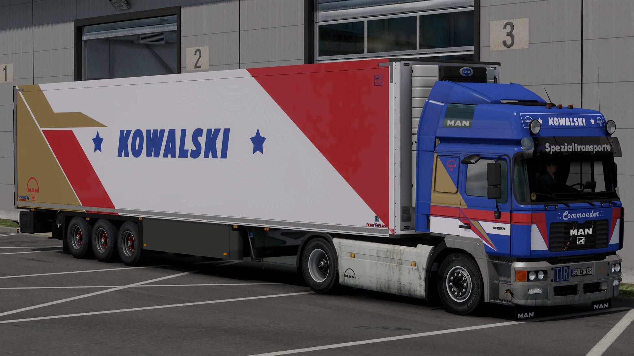 ETS2 - Man F2000 Truck V6.0 (1.39.x)