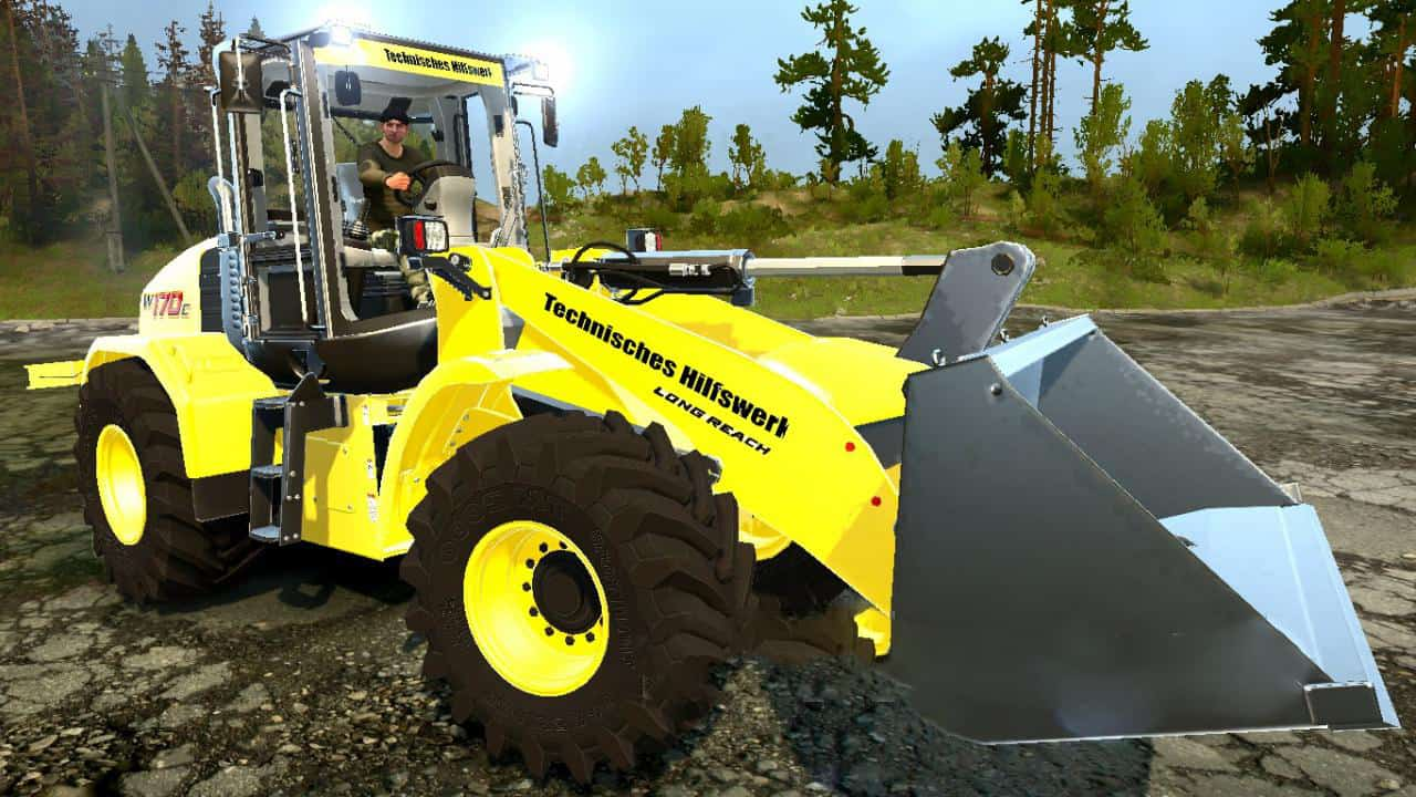 Spintires:Mudrunner - New Holland W170C V1
