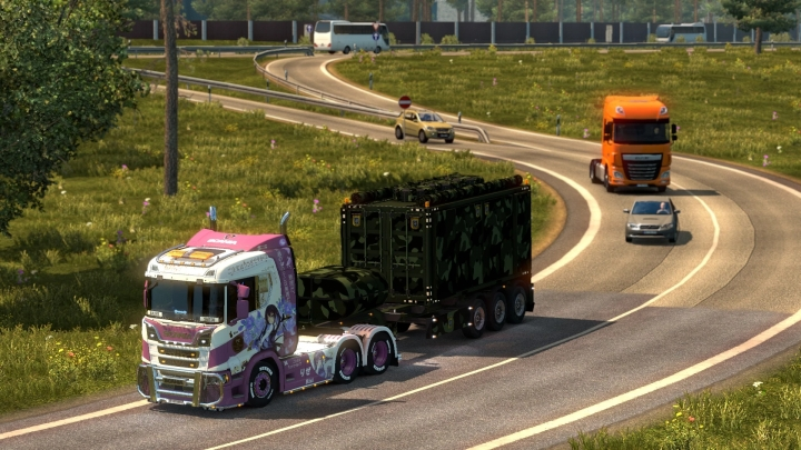 ETS2 - Hybrid Road Connection (1.41.x)