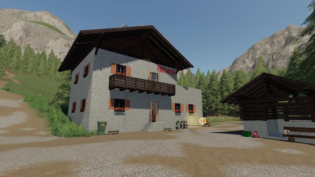 FS19 - Tyrolean Farm - Buildings V1.0